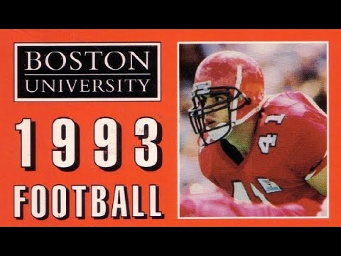 Boston University Football 1993 NCAA Div. 1 AA (11-0) Part 1