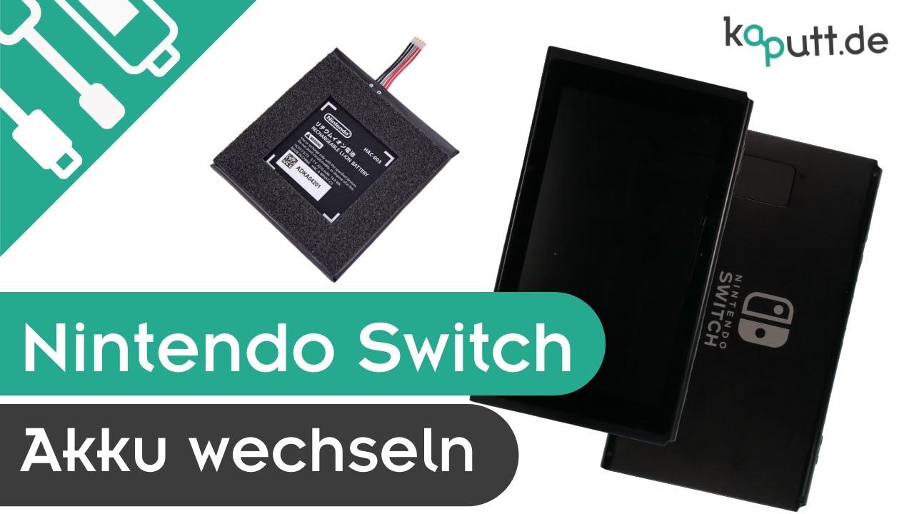 Nintendo Switch Akku Tauschen