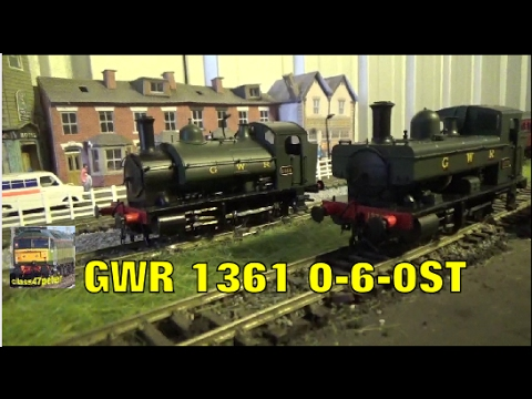 Heljan 1302 GWR 1361 0-6-0ST Unboxing and Review
