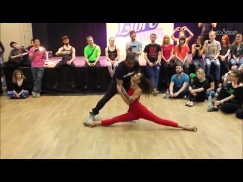 2016 - Carlos & Fernanda Da Silva - Improvised dance demo (Zouk Libre Festival 2016)
