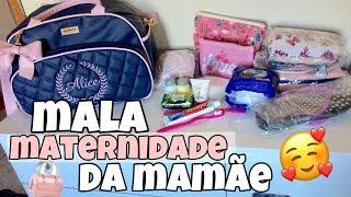 MALA MATERNIDADE DA MAMÃE / OQUE ESTOU LEVANDO
