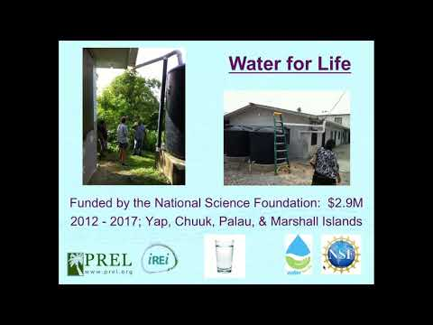 Water for Life: Improving Access to Drinking Water on Pacific Islands - Webinar