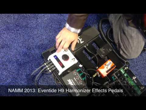 namm 2013 eventide h9 guitar harmonizer pedal youtube. Black Bedroom Furniture Sets. Home Design Ideas
