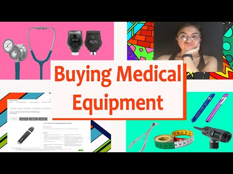 Medical School Equipment! What To BUY And WHY!