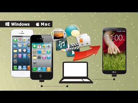 [iPhone to LG G2]: How to Transfer Contacts/SMS/Videos ...