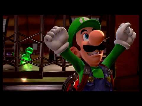 Luigi S Mansion 3 Luigi S Mansion 3 Walthrough Part 3 Hotel Shops 3f Level And Boss Fight