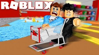 Roblox | ESCAPE FROM The SUPERMARKET MANAGER GUY HÁM MONEY-Escape The Grocery Store | Kia Breaking