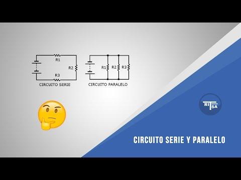Circuito Paralelo Y En Serie : Circuito serie y paralelo analisis de circuitos youtube