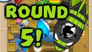 Bloons TD Battles - New Record, Round 5 ZOMG!