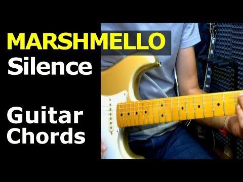 HOW TO PLAY - Marshmello ft Khalid - Silence - Guitar Chords