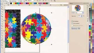 Уроки CorelDRAW: Векторная мозаика. Часть 1.