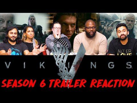 Vikings - Season 6 Official Trailer Reaction!