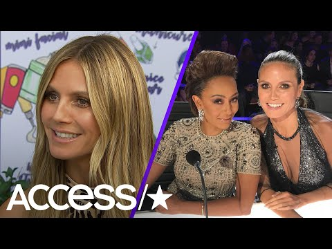 Heidi Klum On Supporting Mel B Through Tough Times & Her Difficult Decision To Leave 'Project Runway