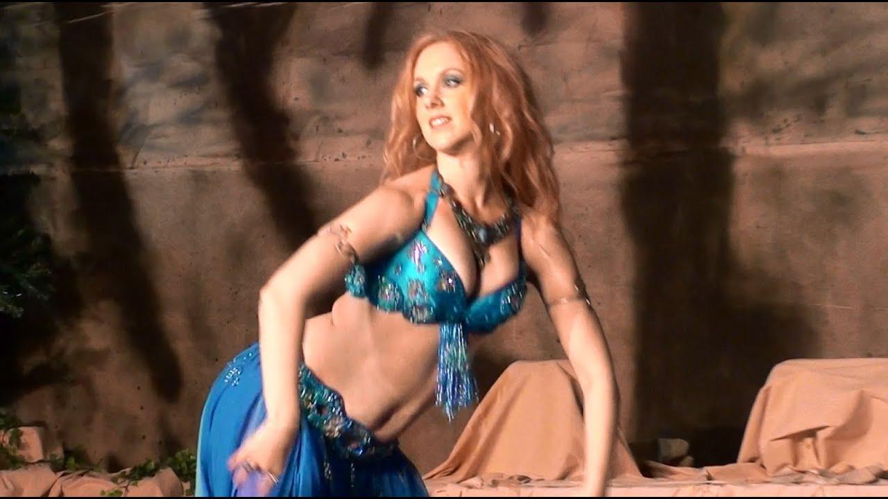 A belly dancer a snake charmer cum 7