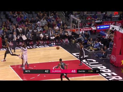 2nd Quarter, One Box Video: Los Angeles Clippers vs. Brooklyn Nets
