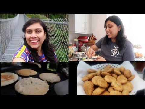 itni-subah-uth-ke-kaha-jane-ki-taiyari---cooking-food-for-the-trip---indian-vlogger-in-canada