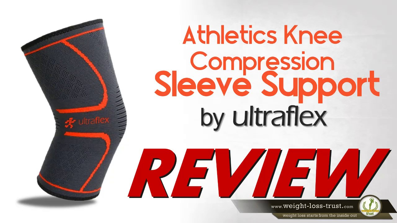 Uflex Athletics Knee Compression Sleeve Support Review