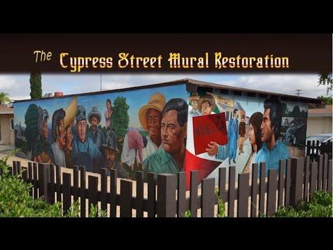 "The Cypress Street Mural, ""El Proletariado de Atzlan"""