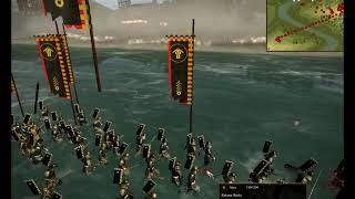Shogun 2 Big Battle: Imperial Army Satsuma (4634) Vs Aizu Samurai (15720)