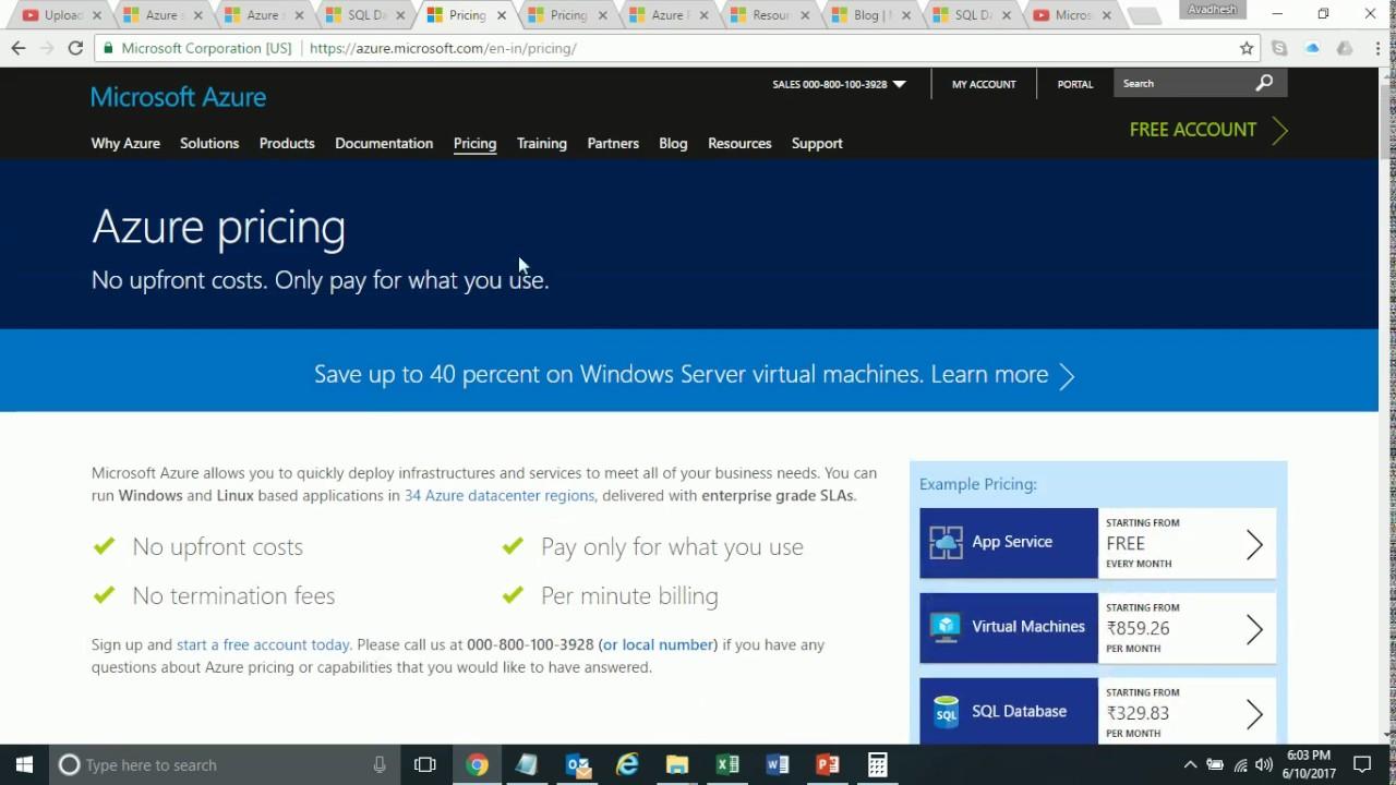 Microsoft azure cloud computing platform services - Microsoft Azure Cloud Computing Platform And Services