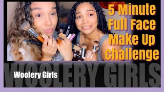 5 Minute Makeup Challenge with Cheyenne and Ciara!!