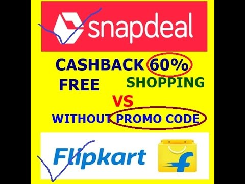 8170ead402a Snapdeal vs Flipcart60% off without Promo code - YouTube