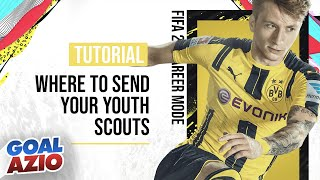 Where To Send Your Youth Scouts   FIFA 20 Career Mode Tutorial