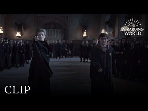 Minerva McGonagall vs. Severus Snape - Minerva McGonagall đấu với Severus Snape