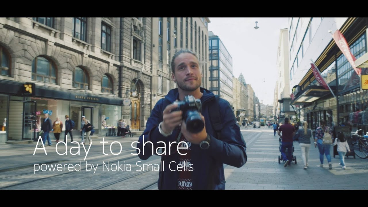 A day to share – powered by Nokia Small Cells | teaser