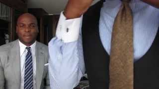 How To Tie A Tie  - How To Tie A Full Windsor Knot ...That Looks Good