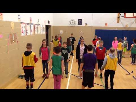 5th grade square dance Jamestown Elementary PE
