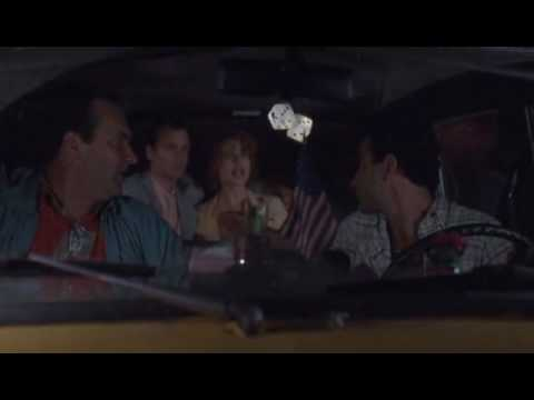 Quick Change - cab scene Randy Quaid, Tony Shalhoub, Geena Davis, Bill Murray