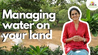 WATER MANAGEMENT MADE EASY - @Aanandaa Permaculture Farm