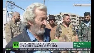 Tortured, jailed & beat: Mayadin residents describe life under ISIS moral police rule (EXCLUSIVE)