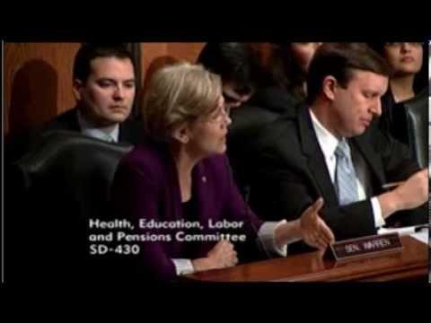 Senator Elizabeth Warren - HELP Committee Executive Session - 10 29 2013