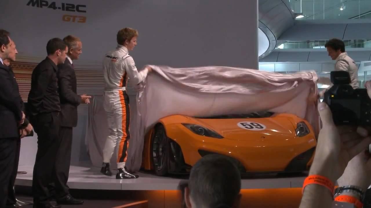 McLaren GT Press Conference