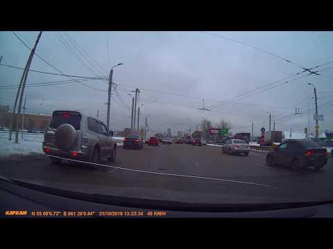 Покатаемся по Челябинску № 3. Ул. Енисейская - Копейское шоссе (ТРК Алмаз) - автодорога Меридиан.