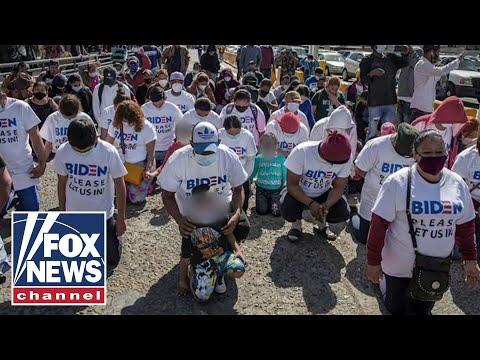 Biden administration blames Trump for crisis at US-Mexico border