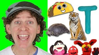 Letter T | Today's Letter Song with Matt and Friends | Preschool, Kindergarten, Learn English