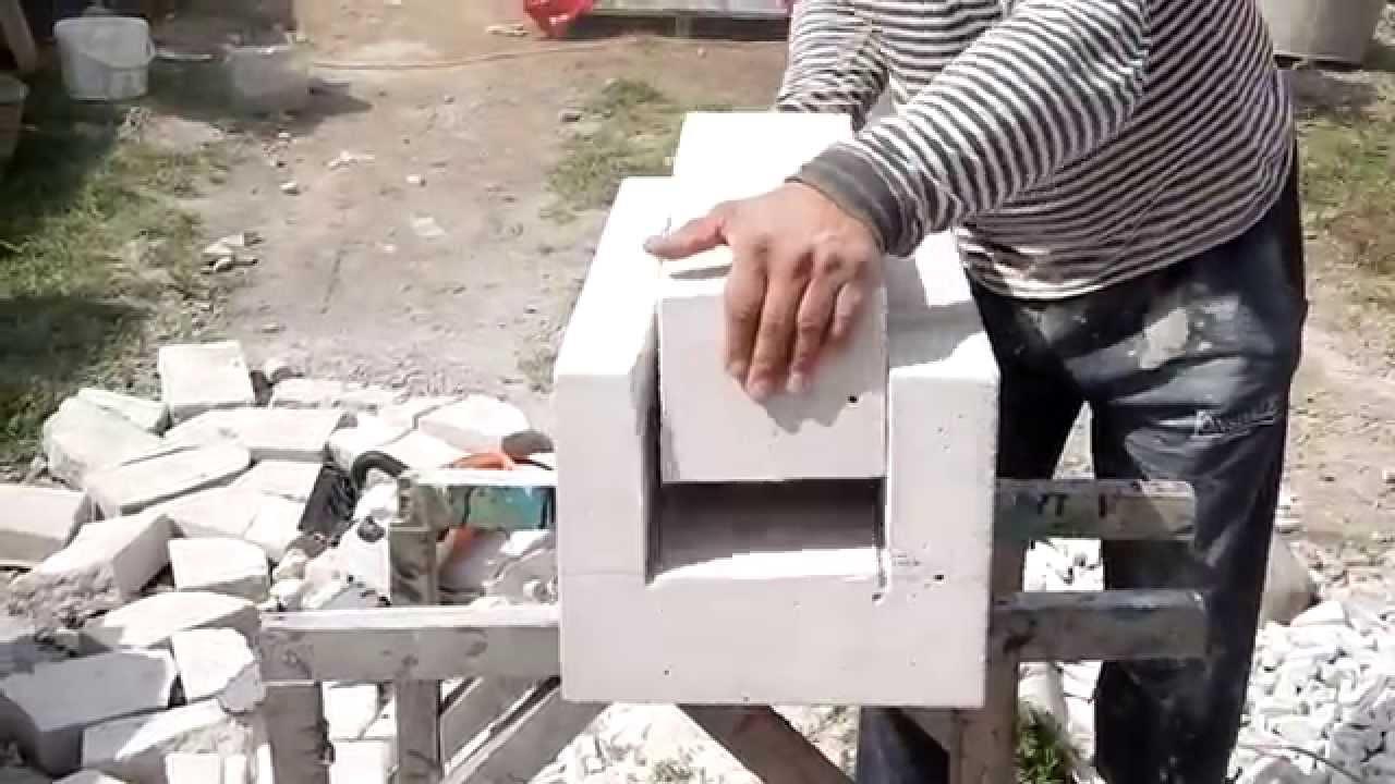 Изготовить блоки своими руками