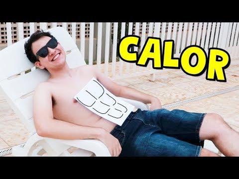 COMO SOBREVIVER AO CALOR I Falaidearo