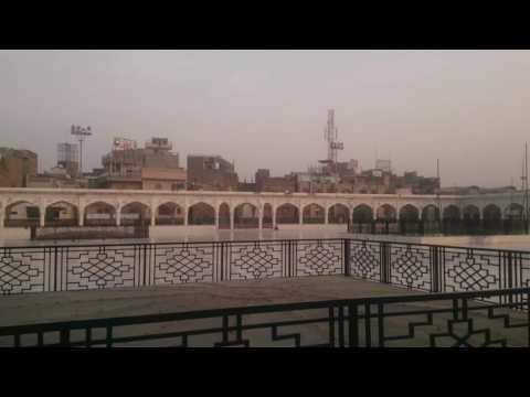 At Data Darbar Lahore February 2016