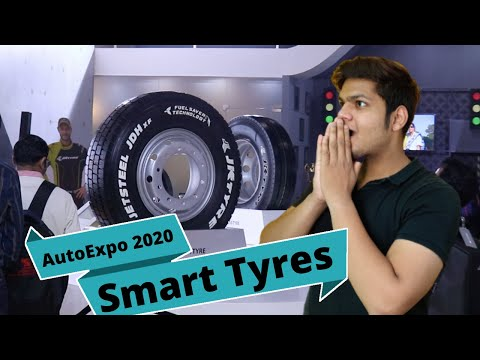 New JK Smart Tyres Launched At Auto Expo 2020