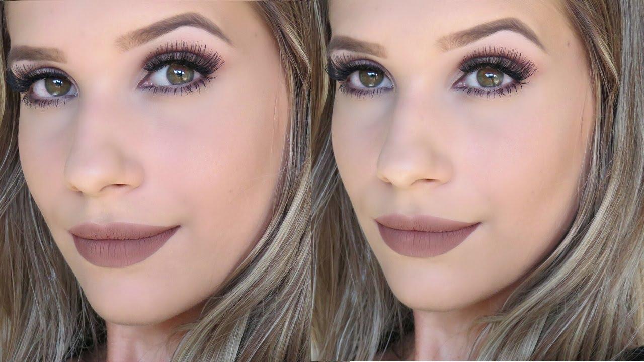 Super Maquiagem Neutra Rápida e Fácil - YouTube VM09