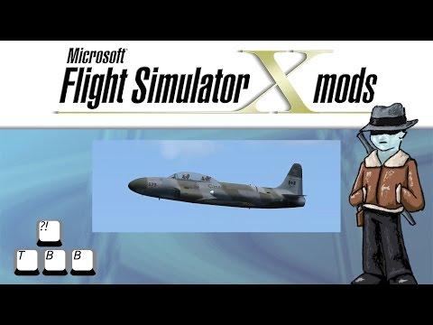 Flight Simulator X Plane Spotlight - Lockheed T-33 Shooting Star