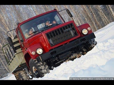 Тест-драйв Садко ГАЗ-33088 с двигателем ЯМЗ-534