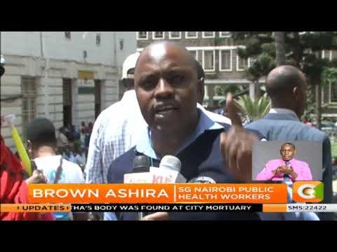 Nairobi county workers strike