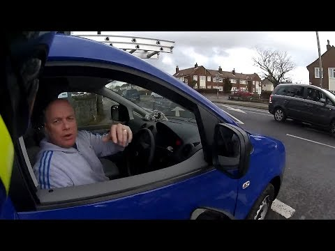 UK Bikers Crashes, Near Misses And Road Rage #34