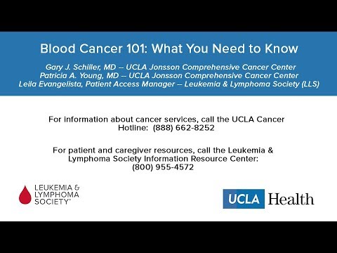 Blood Cancer 101: What You Need to Know | UCLA Blood & Bone Marrow  Transplant