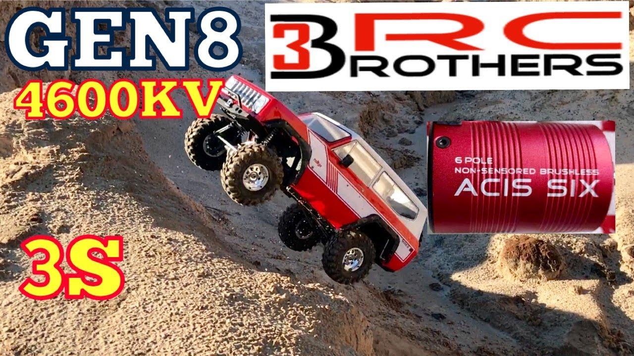 3 Brothers RC ACIS SIX 1200kv NON-SENSORED 6-pole brushless motor RC Crawlers
